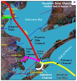 Distinguished Partner Of The Year Award - Port of houston map