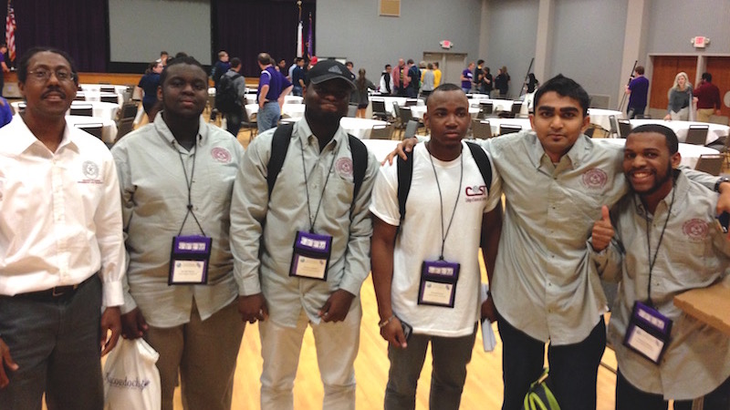 TSU Calculus Bowl Team competes at the Calculus Bowl competition.