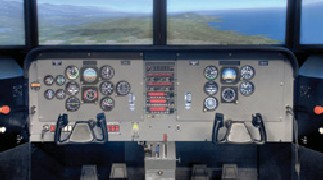 Flight Simulator window