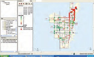 Traffic software system